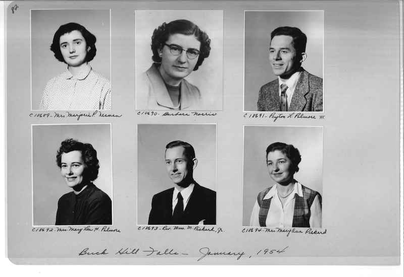 Mission Photograph Album - Portraits #08 Page 0082