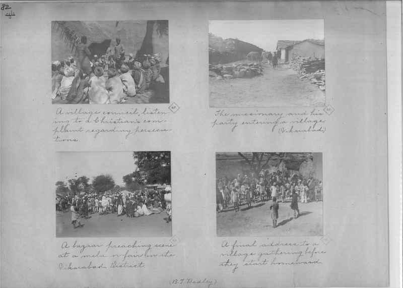 Mission Photograph Album - India - O.P. #01 Page 0082