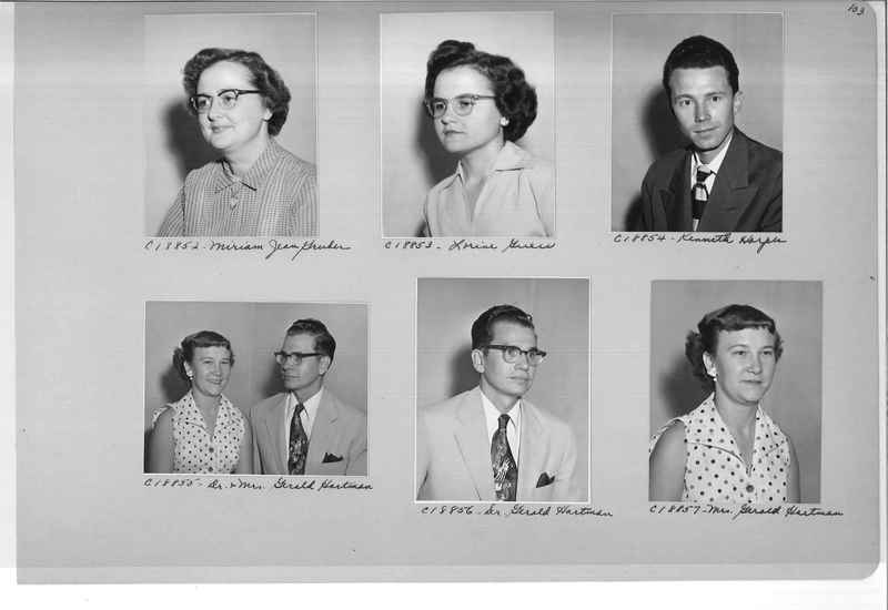 Mission Photograph Album - Portraits #08 Page 0103