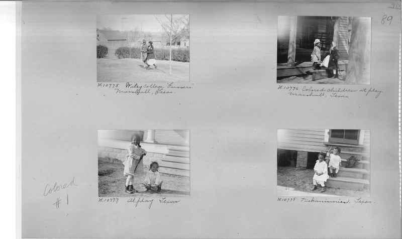 Mission Photograph Album - Negro #1 page 0089