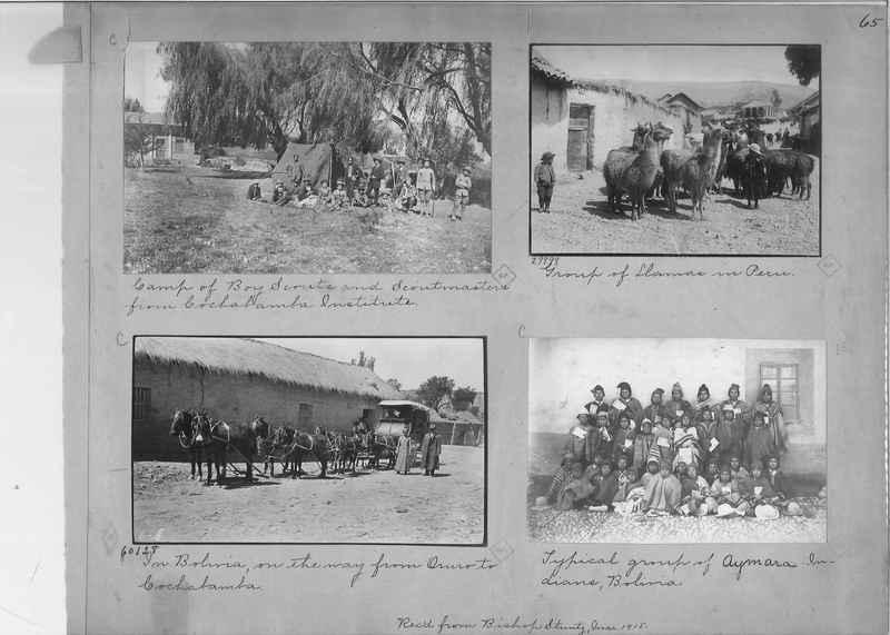 Mission Photograph Album - South America O.P. #1 page 0065