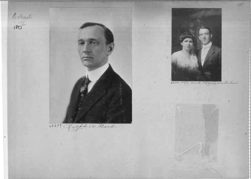 Mission Photograph Album - Portraits #2 page 0180