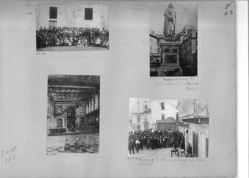 Mission Photograph Album - Europe #01 Page 0053