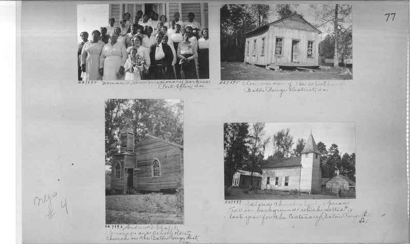 Mission Photograph Album - Negro #4 page 0077
