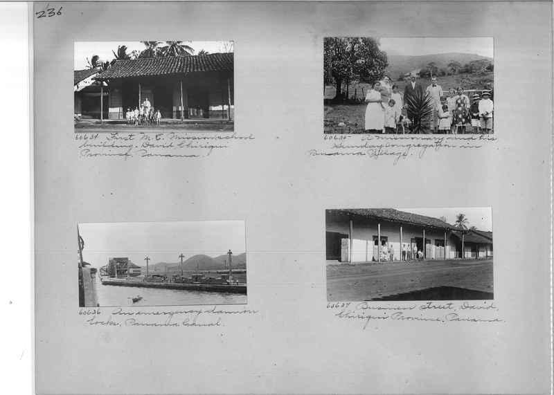 Mission Photograph Album - Panama #02 page 0236