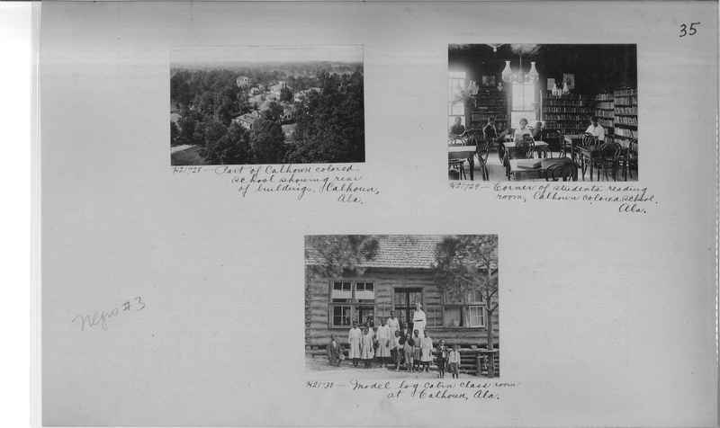 Mission Photograph Album - Negro #3 page 0035