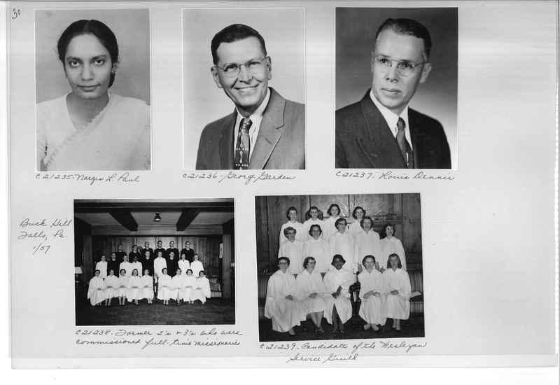 Mission Photograph Album - Portraits #10 Page 0030