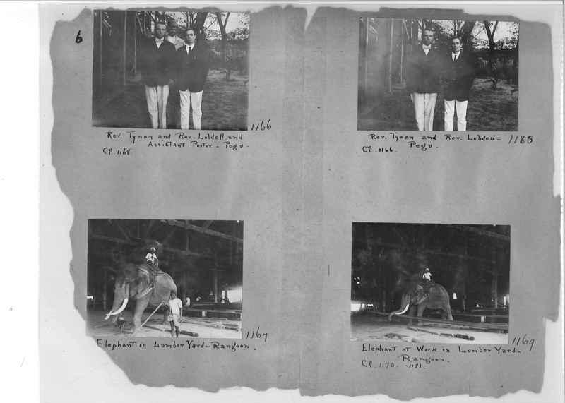 Mission Photograph Album - Burma #1 page 0006