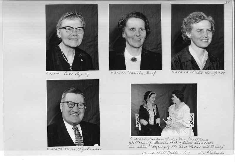 Mission Photograph Album - Portraits #10 Page 0037