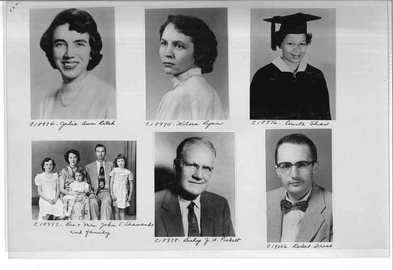 Mission Photograph Album - Portraits #08 Page 0122