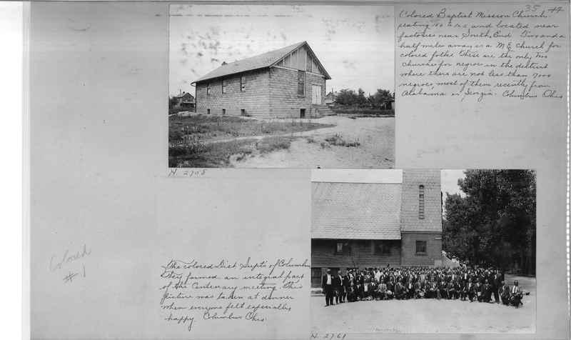 Mission Photograph Album - Negro #1 page 0035