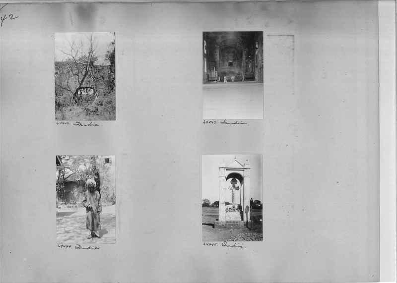 Mission Photograph Album - India #08 Page 0042
