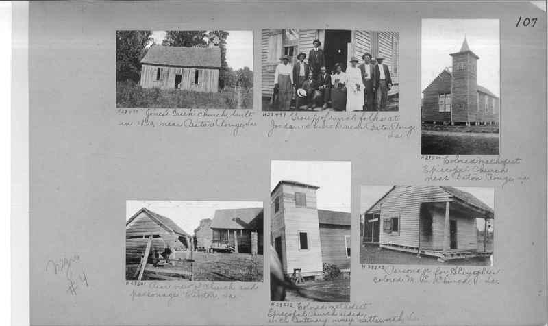 Mission Photograph Album - Negro #4 page 0107