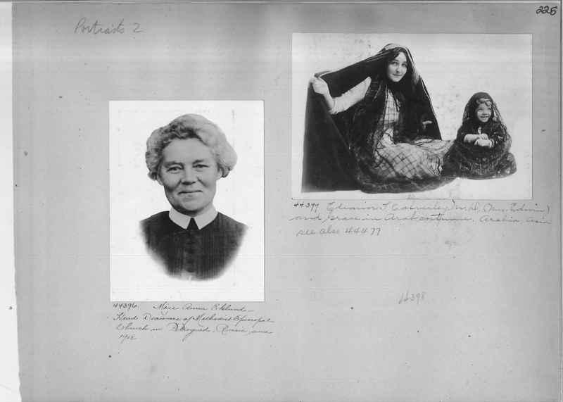 Mission Photograph Album - Portraits #2 page 0225