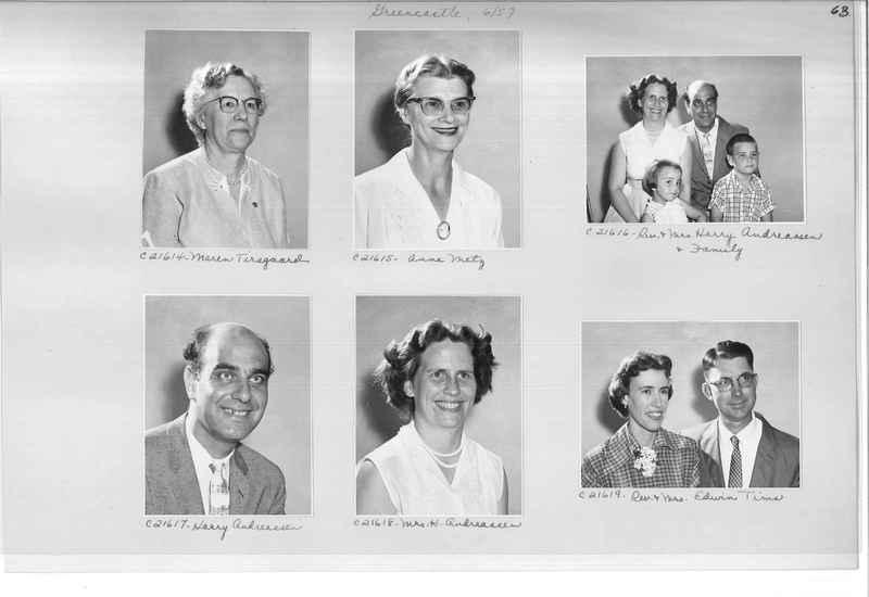 Mission Photograph Album - Portraits #10 Page 0063