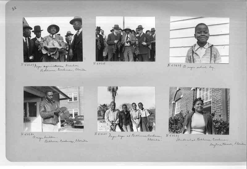 Mission Photograph Album - Negro #7 page 0032