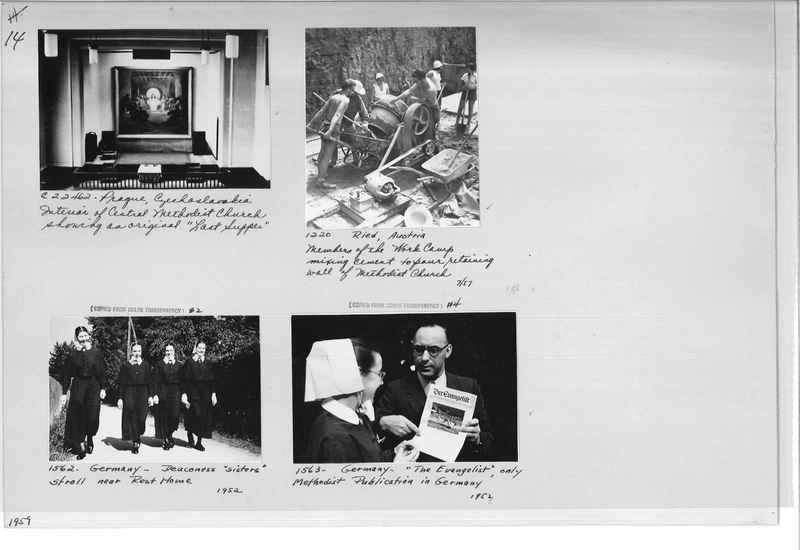 Mission Photograph Album - Europe #10 Page 0014