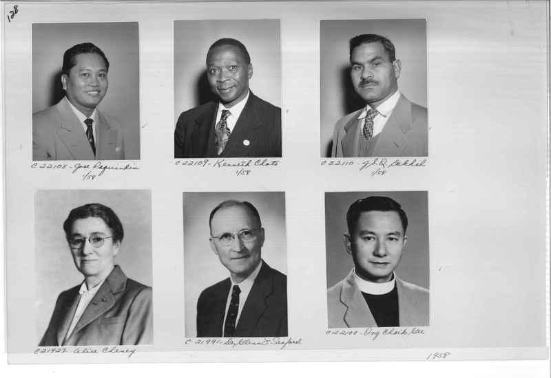 Mission Photograph Album - Portraits #10 Page 0128