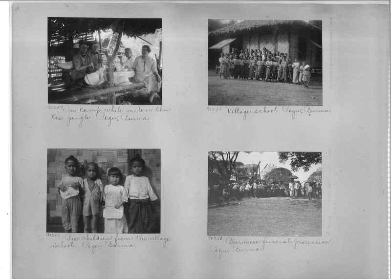 Mission Photograph Album - Burma #2 page 0014