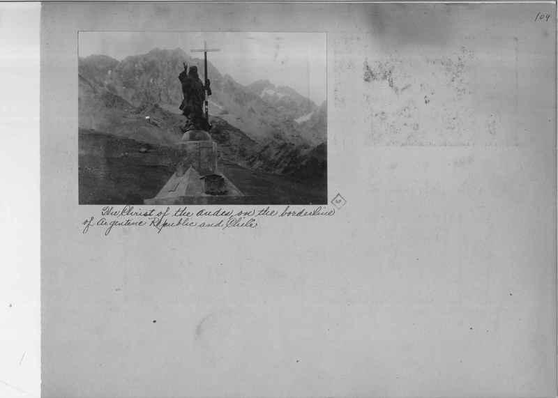 Mission Photograph Album - South America O.P. #1 page 0109