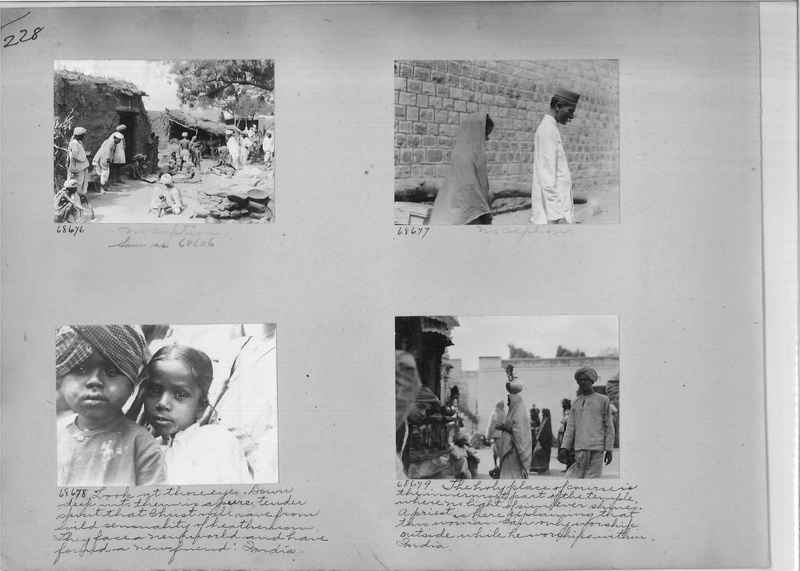 Mission Photograph Album - India #08 Page 0228