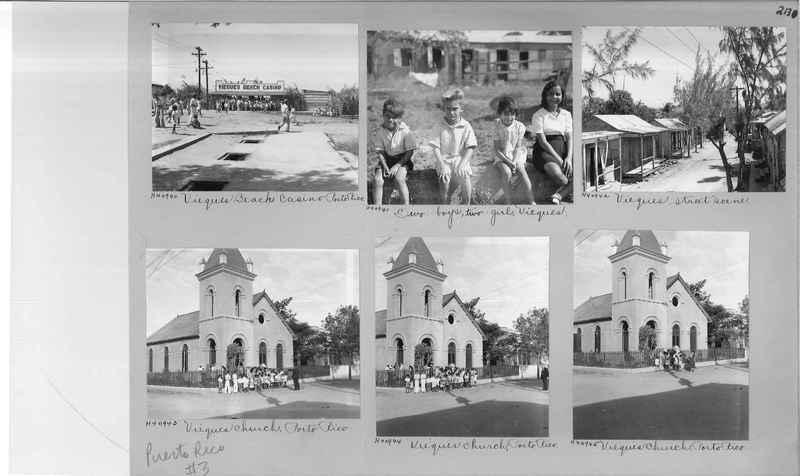 Mission Photograph Album - Puerto Rico #3 page 0213