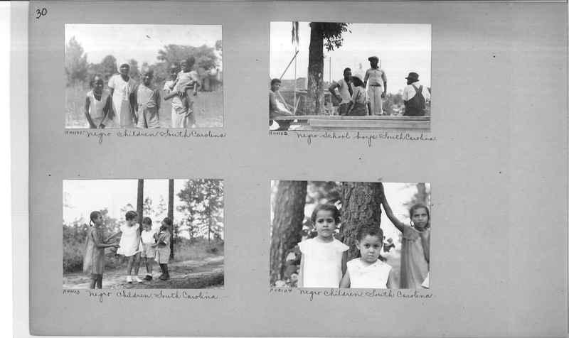 Mission Photograph Album - Negro #6 page 0030