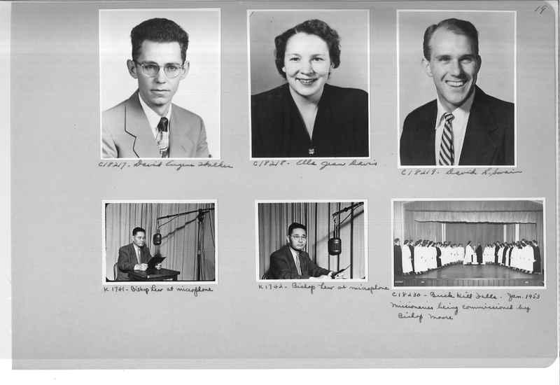 Mission Photograph Album - Portraits #08 Page 0019
