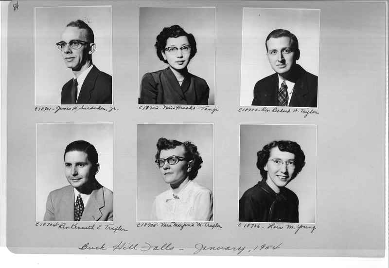 Mission Photograph Album - Portraits #08 Page 0084