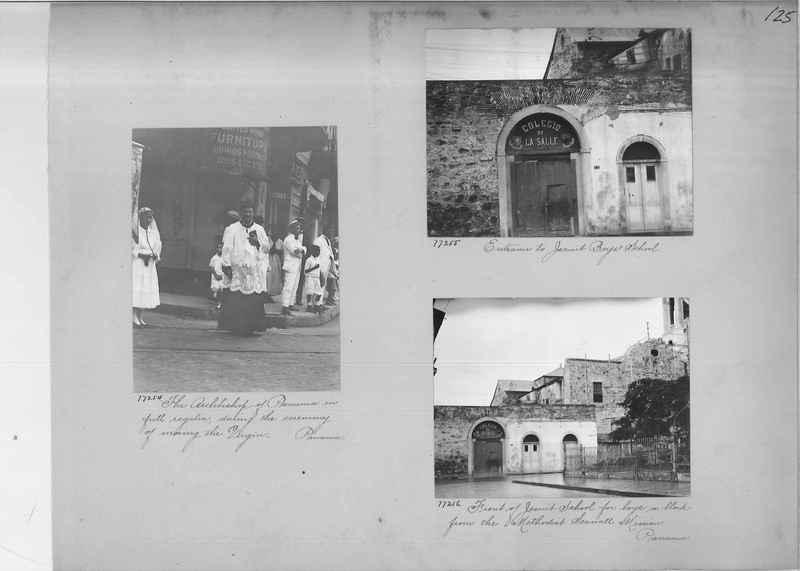 Mission Photograph Album - Panama #03 page 0125