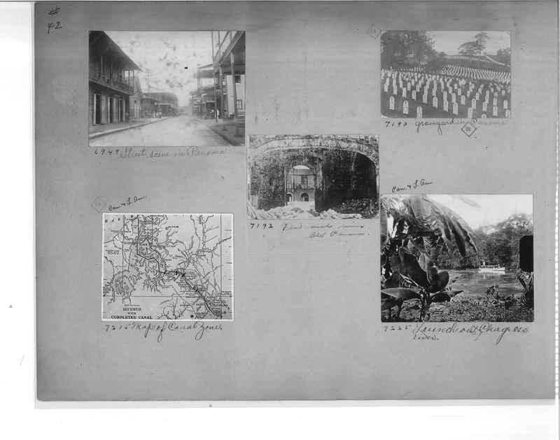 Mission Photograph Album - Panama #1 page  0042