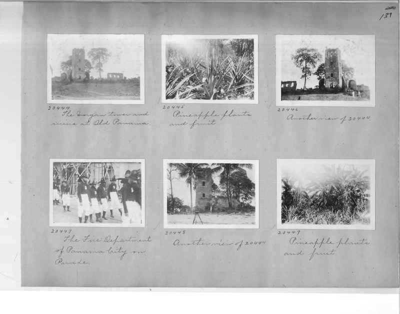 Mission Photograph Album - Panama #1 page  0139