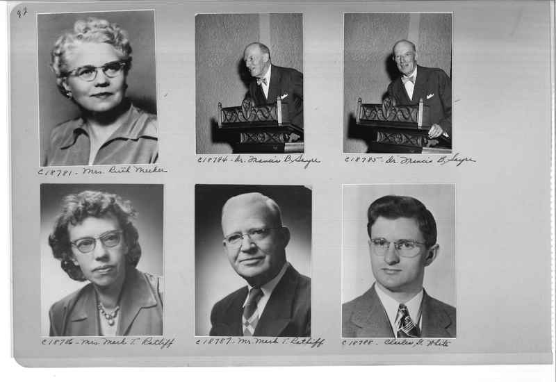 Mission Photograph Album - Portraits #08 Page 0092