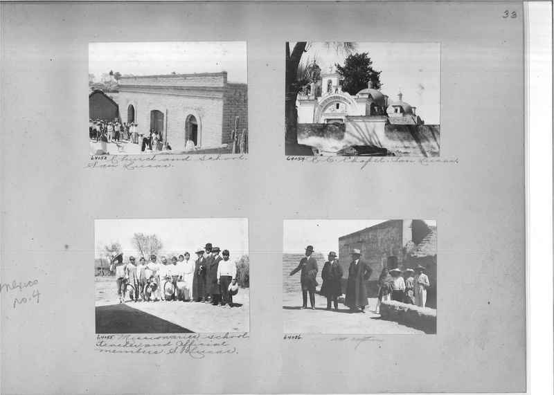 Mission Photograph Album - Mexico #04 page 0033