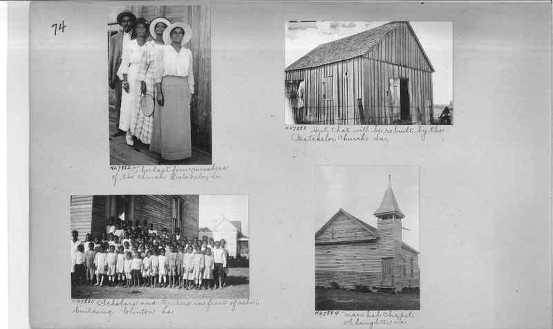 Mission Photograph Album - Negro #4 page 0074