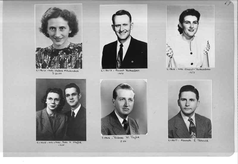 Mission Photograph Album - Portraits #08 Page 0067