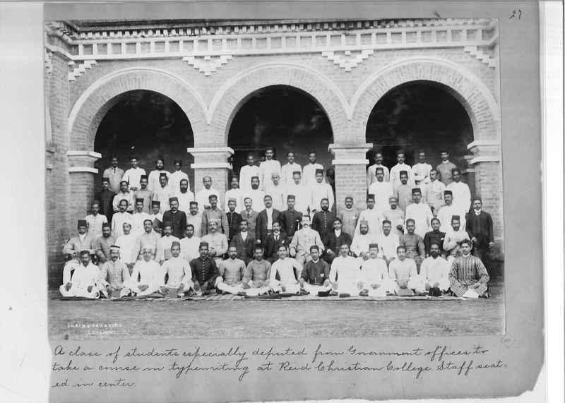 Mission Photograph Album - India - O.P. #01 Page 0027