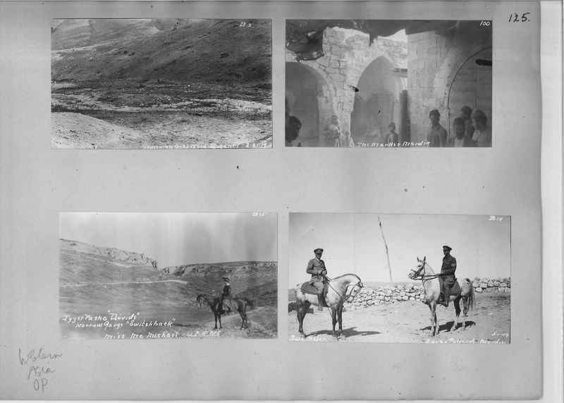 Mission Photograph Album - Western Asia - O.P. - #01 page_0125