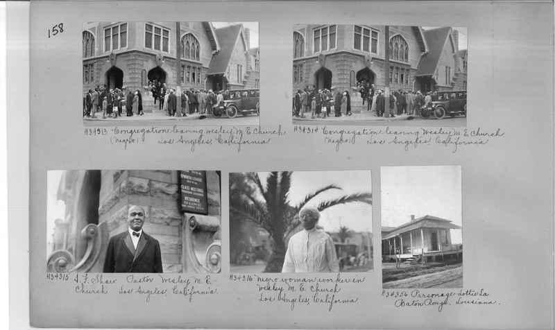 Mission Photograph Album - Negro #4 page 0158