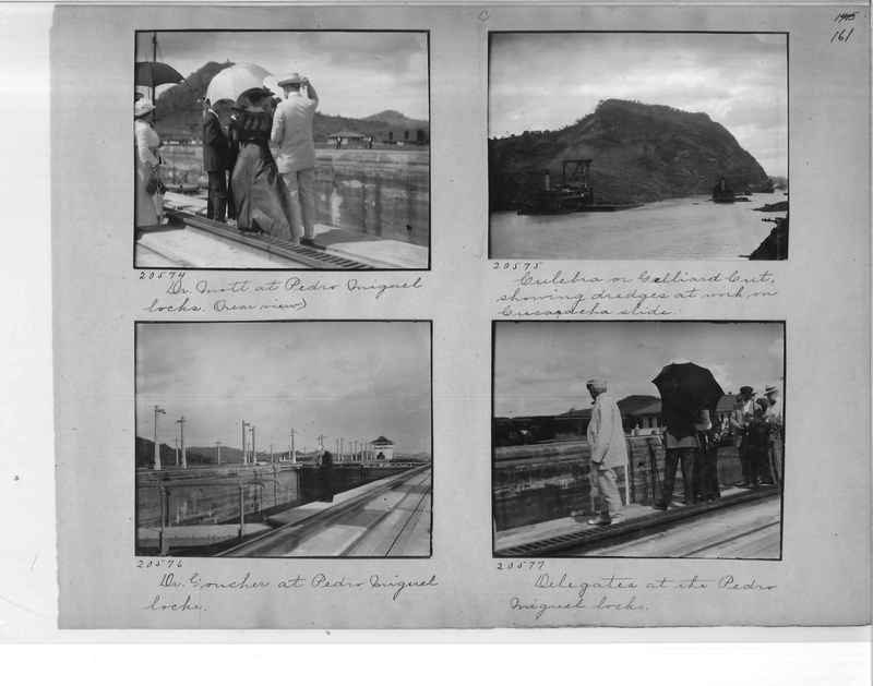 Mission Photograph Album - Panama #1 page  0161