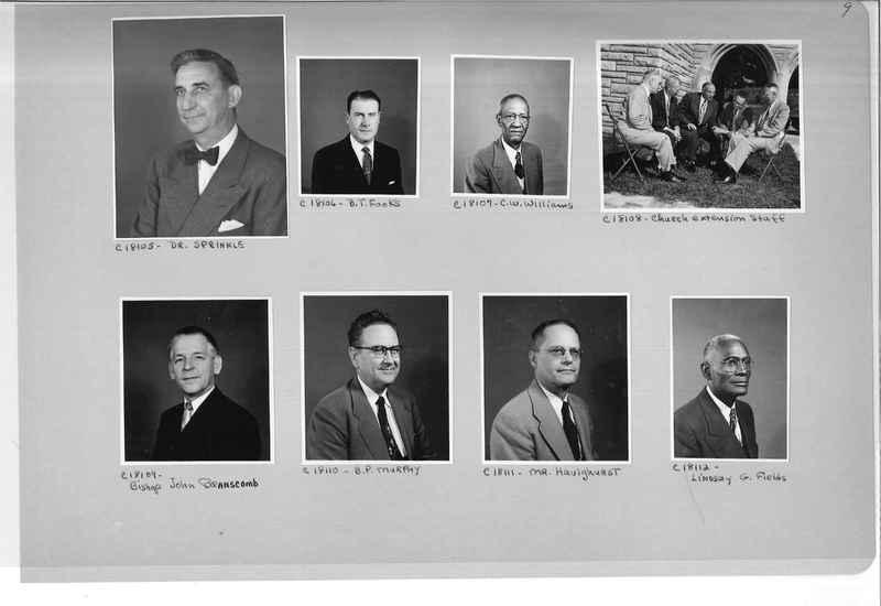 Mission Photograph Album - Portraits #08 Page 0009