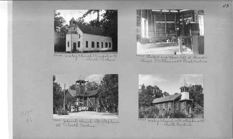 Mission Photograph Album - Negro #6 page 0043
