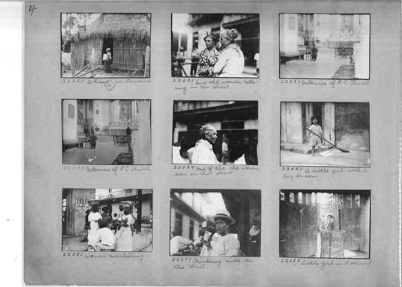 Mission Photograph Album - Panama #02 page 0004