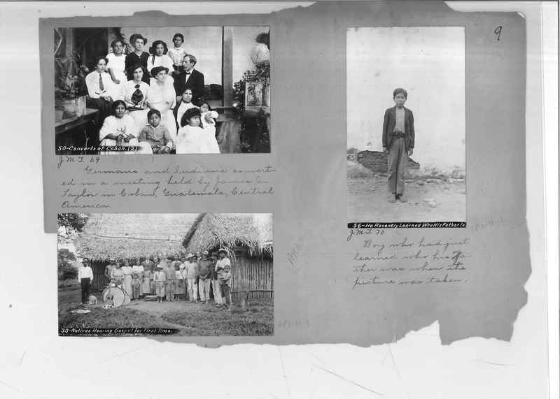 Mission Photograph Album - Mexico - O.P. #01 Page 0009