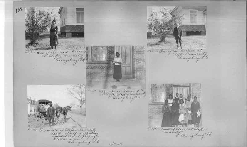 Mission Photograph Album - Negro #3 page 0108