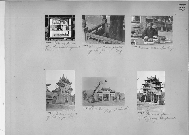 Mission Photograph Album - China #6 page 0213
