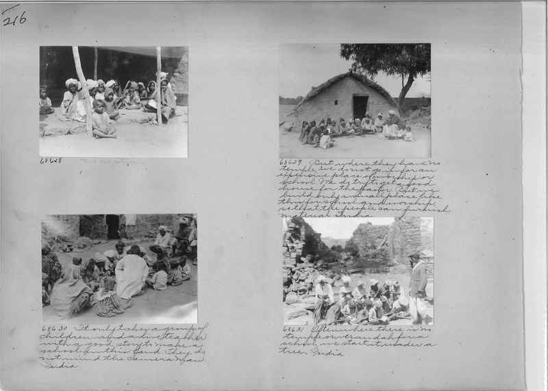 Mission Photograph Album - India #08 Page 0216