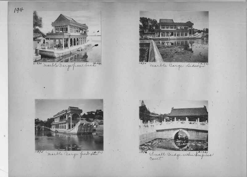 Mission Photograph Album - China #2 page  0194