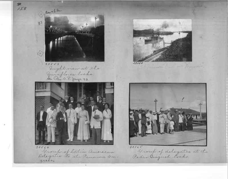 Mission Photograph Album - Panama #1 page  0158