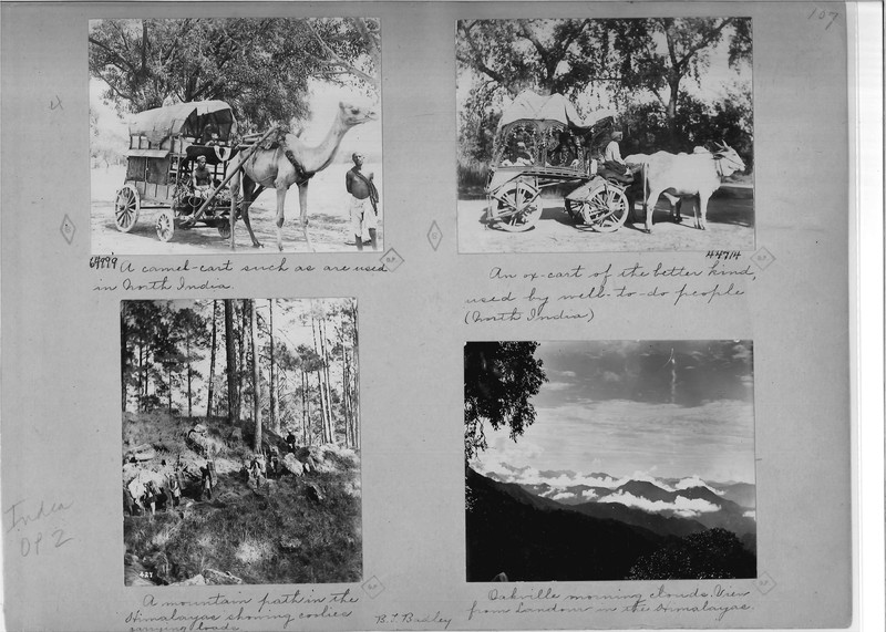 Mission Photograph Album - India - O.P. #02 Page 0107